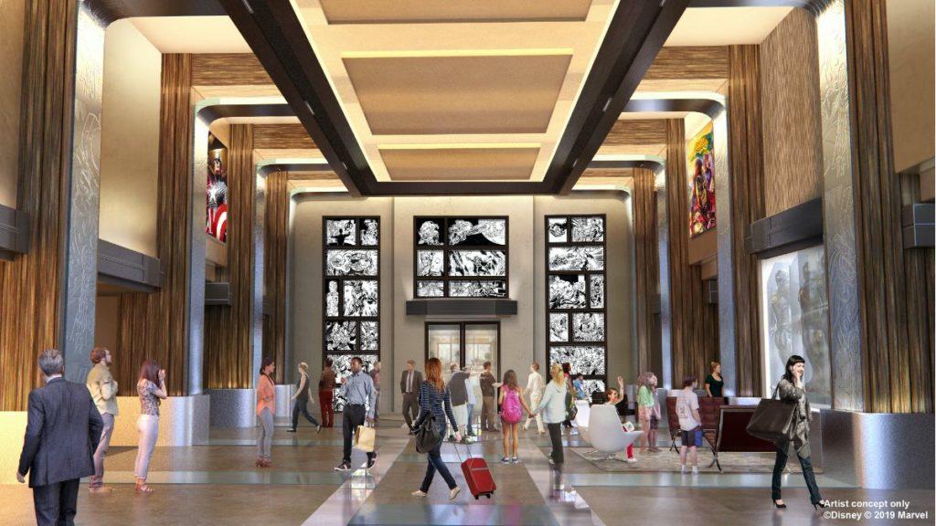 The lobby concept-art