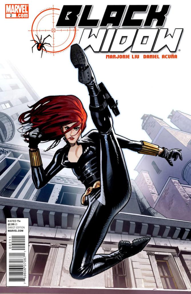 Couverture du comics BlackWidox