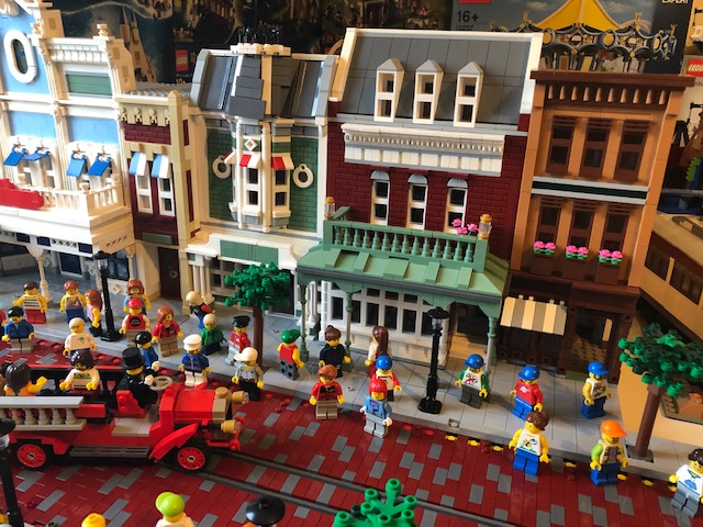 Main Street Usa lego model