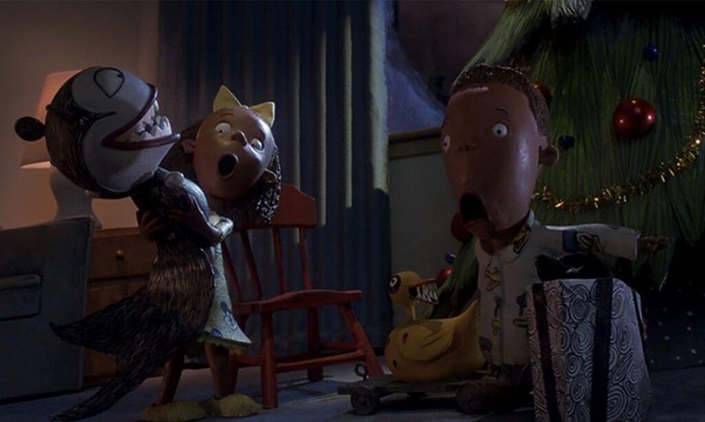 scène issue de L'étrange Noël de M. Jack