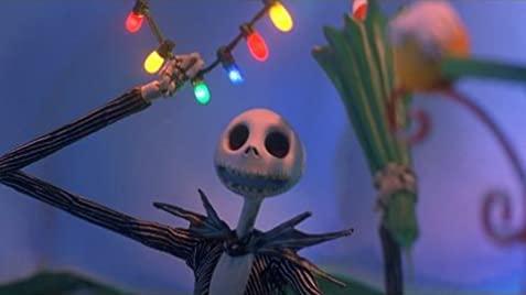Jack découvrant la ville de Noël